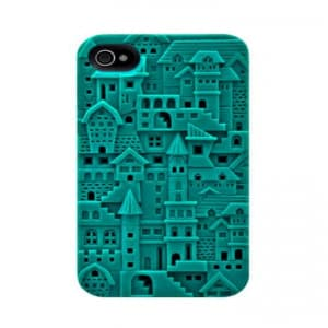 SwitchEasy Avant-Garde Chateau iPhone 4 & 4S Case - Turquoise
