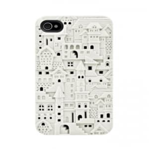 SwitchEasy Avant-Garde Chateau iPhone 4 & 4S Case - White