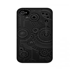 SwitchEasy Avant-Garde Clockwork iPhone 4 & 4S Case - Black