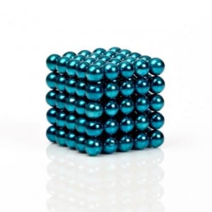 Buckyballs Chromatics 216 Blue Green Balls