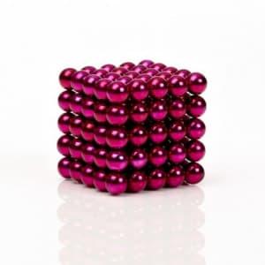 Buckyballs Chromatics 216 Pink Balls Magnetic Puzzle