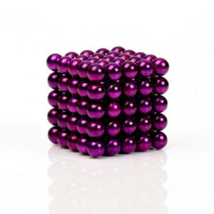 Buckyballs Chromatics 216 Purple Balls Magnet Set