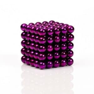 Buckyballs Chromatics 216 Purple Balls Magnet Set