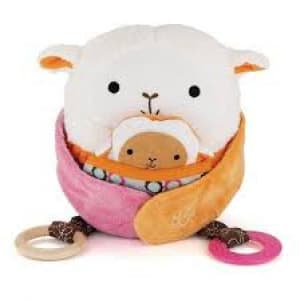 Skip Hop Hug & Hide Activity Toys-Lamb