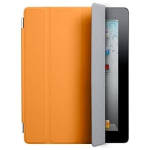 Smart Cover for Apple iPad 2 and the new iPad - Polyurethane Orange