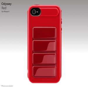SwitchEasy Odyssey Red UltraFrame Hardshell iPhone 4 Case