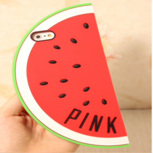 Victoria's Secret Pink Unique Shape iPhone 5 5s Case Watermelon Red