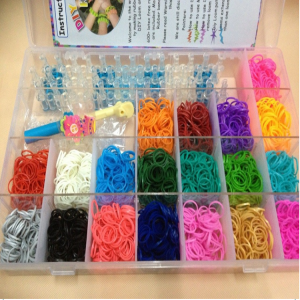 Rainbow Loom Twistz Bandz Bracelet Necklace 4200 Bands Deluxe Mega Set