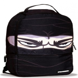 Tofi Ninja Black Backpack Laptop Bag