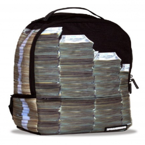 Sprayground Money Stacks Backpack Laptop Bag