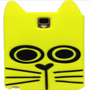 Marc Jacobs Rue the Cat Yellow Galaxy Note 3 Case