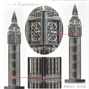 DIY 3D Stainless Steel Metal Puzzle Laser Cut-London Big Ben