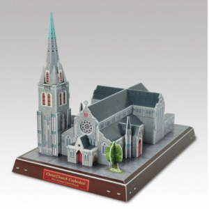 Cubic Fun 3D Model Puzzle Christ Church Cathedral