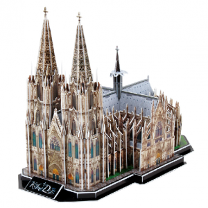 3D Model Puzzle Cubic Fun Germany Cologne Cathedral 179 pcs