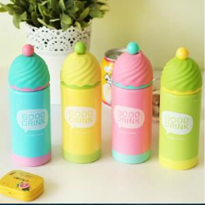 Cute Portable Good Drink Ice Cream Shape Tumbler