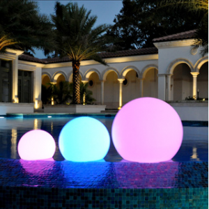 """LED  Color Changing Waterproof Cordless Outdoor Light Ball 40cm 16"""""""