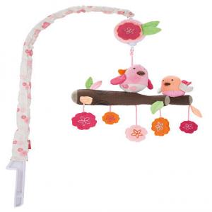 Skip Hop Springtime Birdie Musical Crib Mobile Toy