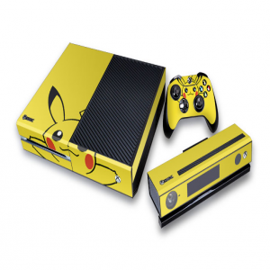 Xbox One Pikachu Pokémon Decal Skin for Console, Controller, Kinect