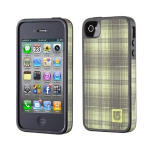 Speck Products FabShell Burton for iPhone 4 & 4S - Aloe Fade Out Plaid