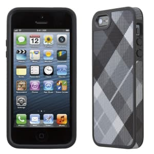 Speck Products Fitted FabShell Case for iPhone 5 5S - MegaPlaid Black