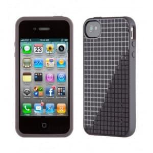 Speck PixelSkin HD iPhone 4S Case Soot