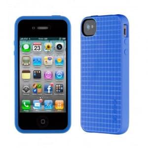 Speck PixelSkin HD iPhone 4S Case Cobalt Blue