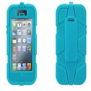Griffin Survivor Case for iPhone 5 5S Pool Blue