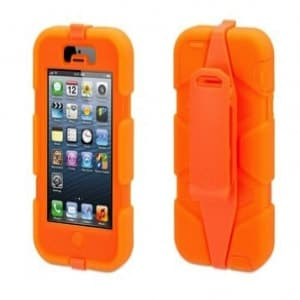 Griffin Survivor Case for iPhone 5 5S Fluoro Orange