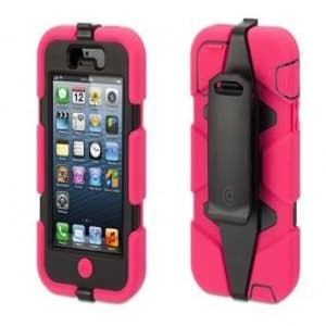Griffin Survivor Case for iPhone 5 5S Pink/Black