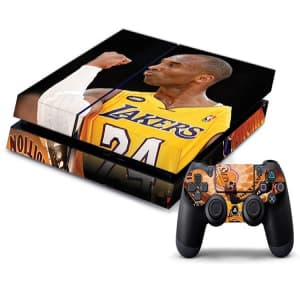 PS4 Lakers Decal Skin for Console and Controller