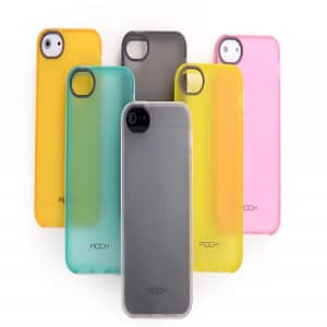ROCK Joyful Free iPhone 5 5S TPU Matte Case