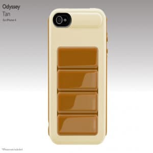 SwitchEasy Odyssey Tan UltraFrame Hardshell iPhone 4 Case