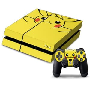 PS4 Pikachu Pokémon Decal Skin for Console and Controller