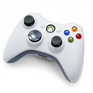 Microsoft Wireless Controller - Xbox 360 - White- NSF-00001