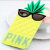 Victoria's Secret PINK Pineapple iPhone 5 5s Soft Durable Pull-On Case Yellow