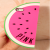 Victoria's Secret Pink Unique Shape iPhone 5 5s Case Watermelon Pink