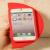 Victoria's Secret Pink Unique Shape iPhone 5 5s Case Watermelon Red