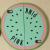 Victoria's Secret Pink Unique Shape iPhone 5 5s Case Watermelon Mint