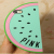 Victoria's Secret Pink Unique Shape iPhone 5 5s Case Watermelon Mint
