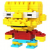 Loz Toy Nano Building Block Gift Series Bart Simpson