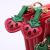 Strawberry Trio Clutch Purse with Chain Strap