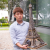 3D Model Puzzle with Led Light effects-Eiffel Tower