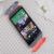 HTC One M8 Original Double Dip Case Grey Orange