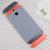 HTC One M8 Original Double Dip Case Light Grey Orange