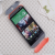HTC One M8 Original Double Dip Case Grey Black Red