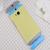 HTC One M8 Original Double Dip Case Yellow Gray Blue