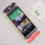 HTC One M8 Original Double Dip Case Yellow Orange Grey