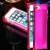 iPhone 4 4S Ice Block Silicone Case with LED Flashing Light Notification